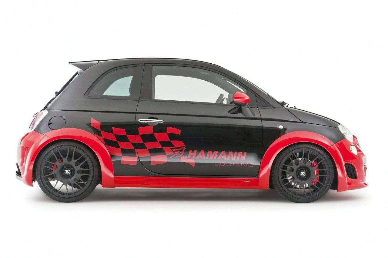 Fiat Abarth 500 od Hamann luty 2010