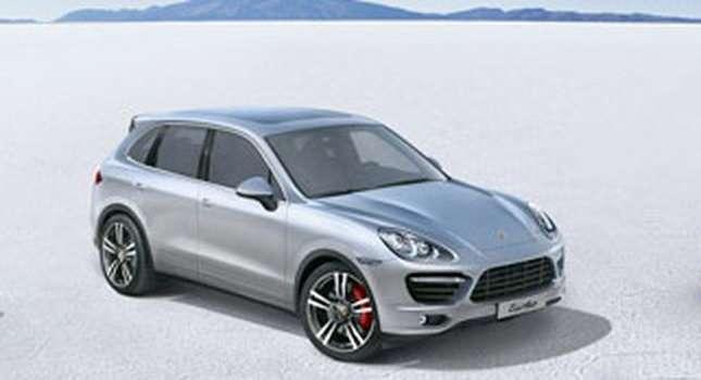 Porsche Cayenne leaked luty 2010