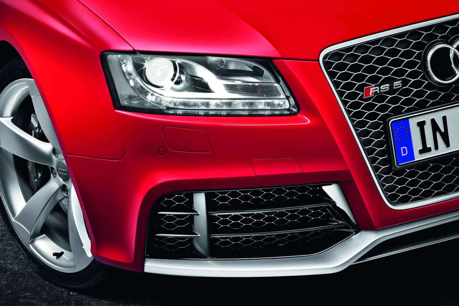 Audi RS5 Coupe oficjalnie luty 2010
