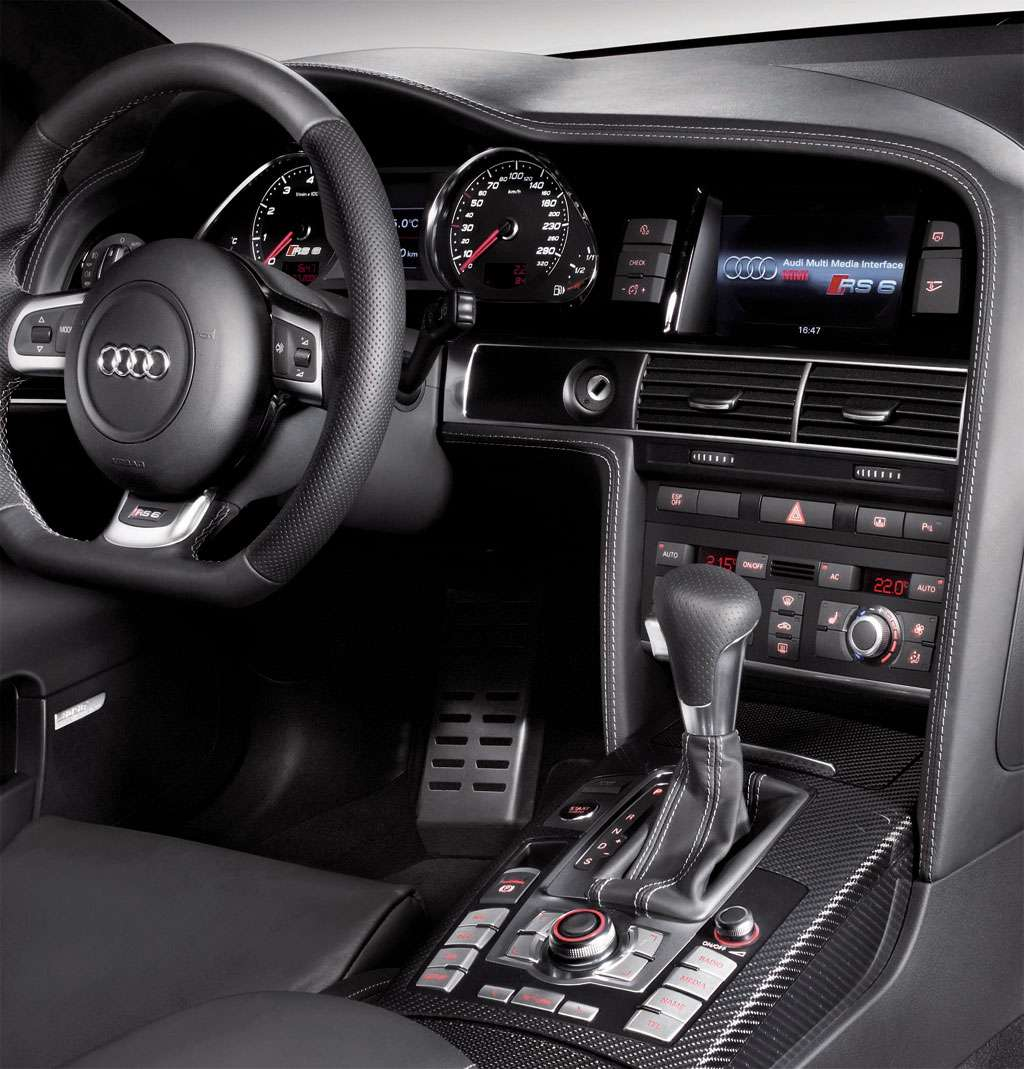 AUDI RS6 limited luty 2010