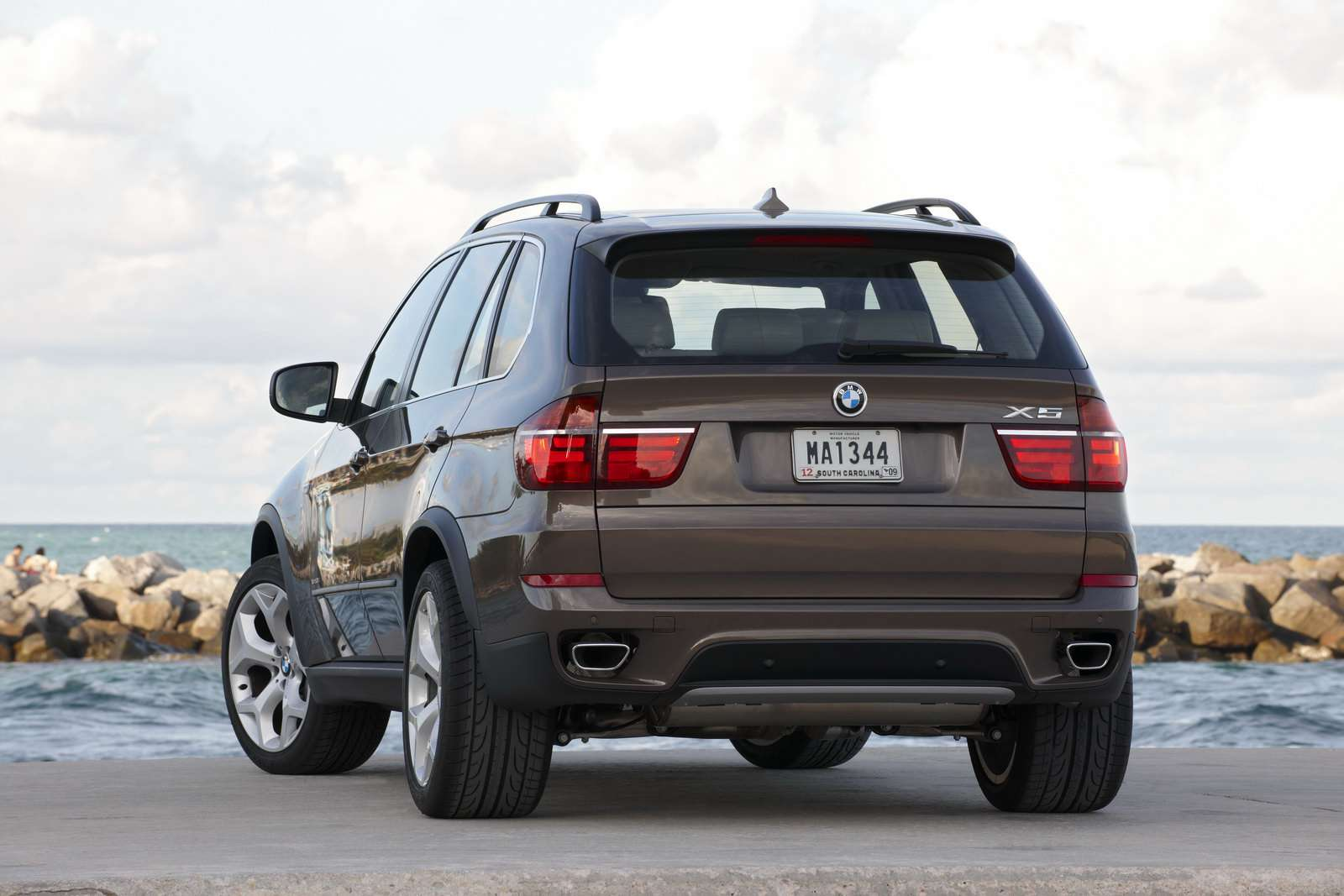 BMW X5 2010 Facelifting Genewa fot