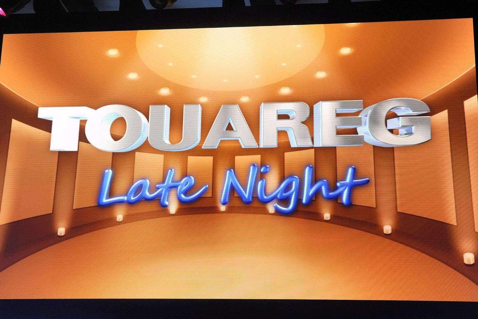 VW Touareg 2011 Late Night Show 2010