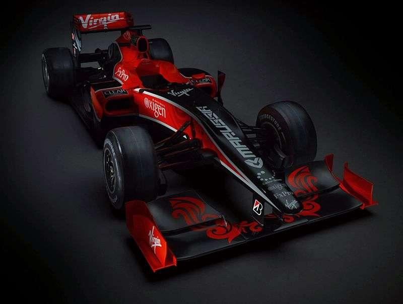 Premiera Virgin Racing VR-01 2010