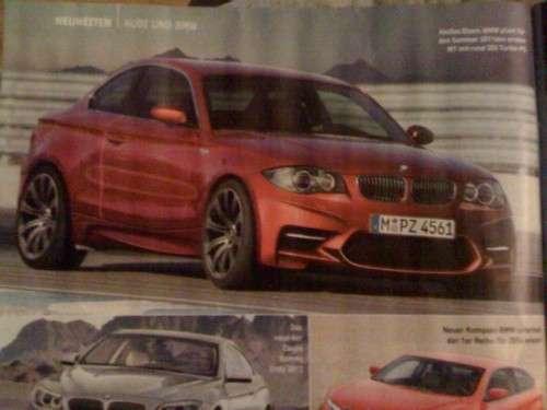 BMW M1 2010 przeciek