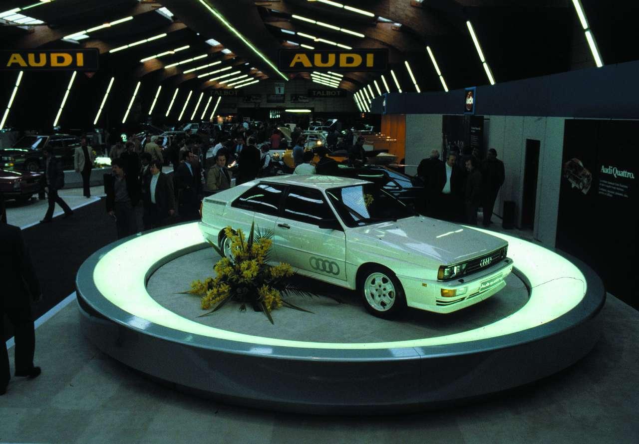 Audi Quattro 30 lat fot 2010 luty