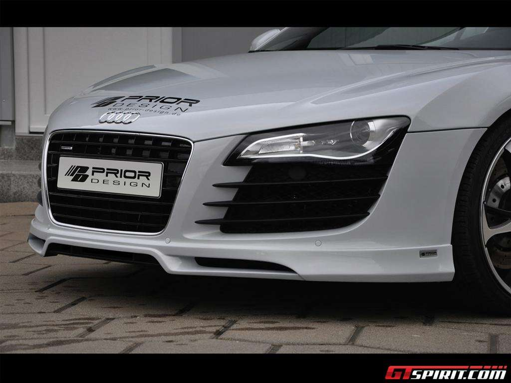 Audi R8 Carbon Edition od Prior Design luty 2010