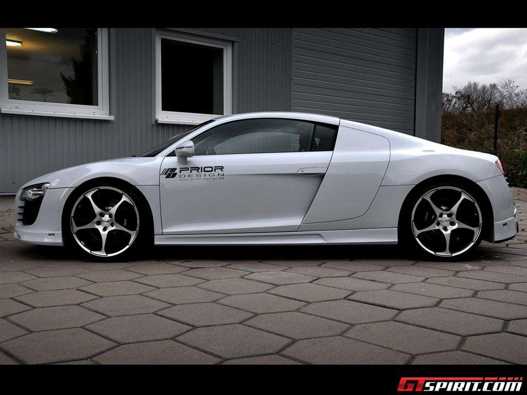 Audi R8 Carbon Edition od Prior Design luty 2010