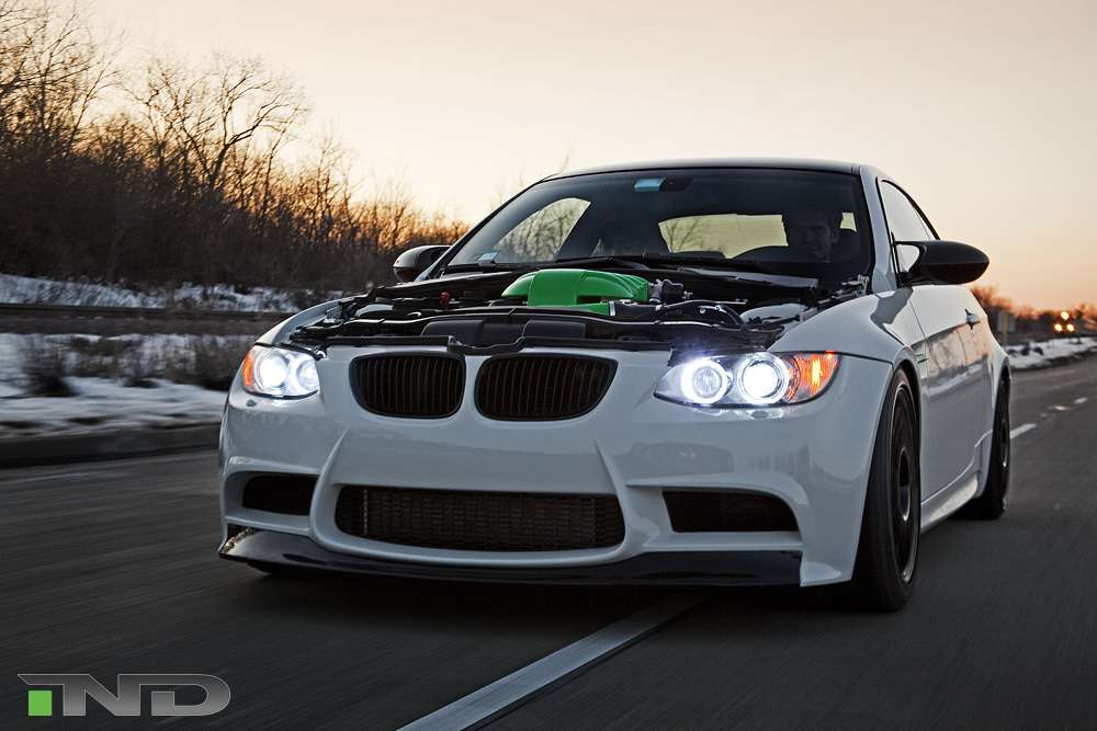 IND BMW M3 Green Hell luty 2010
