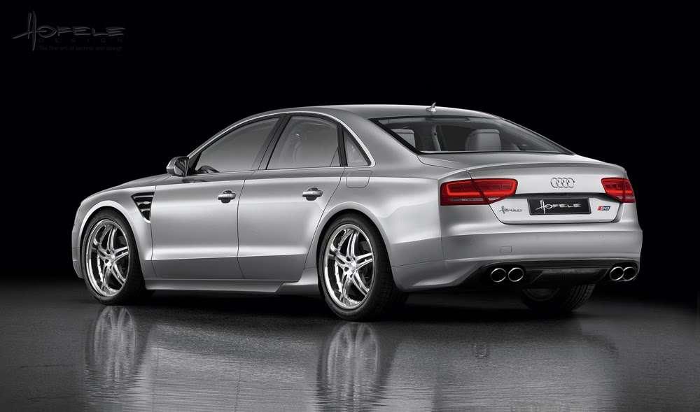 Audi A8 Hofele Design luty 2010
