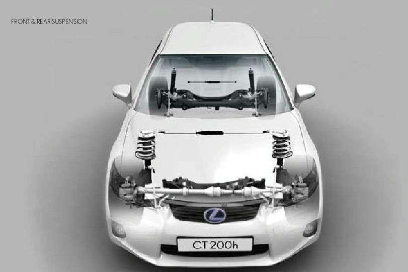 Lexus CT 200h Official Brochure luty 2010