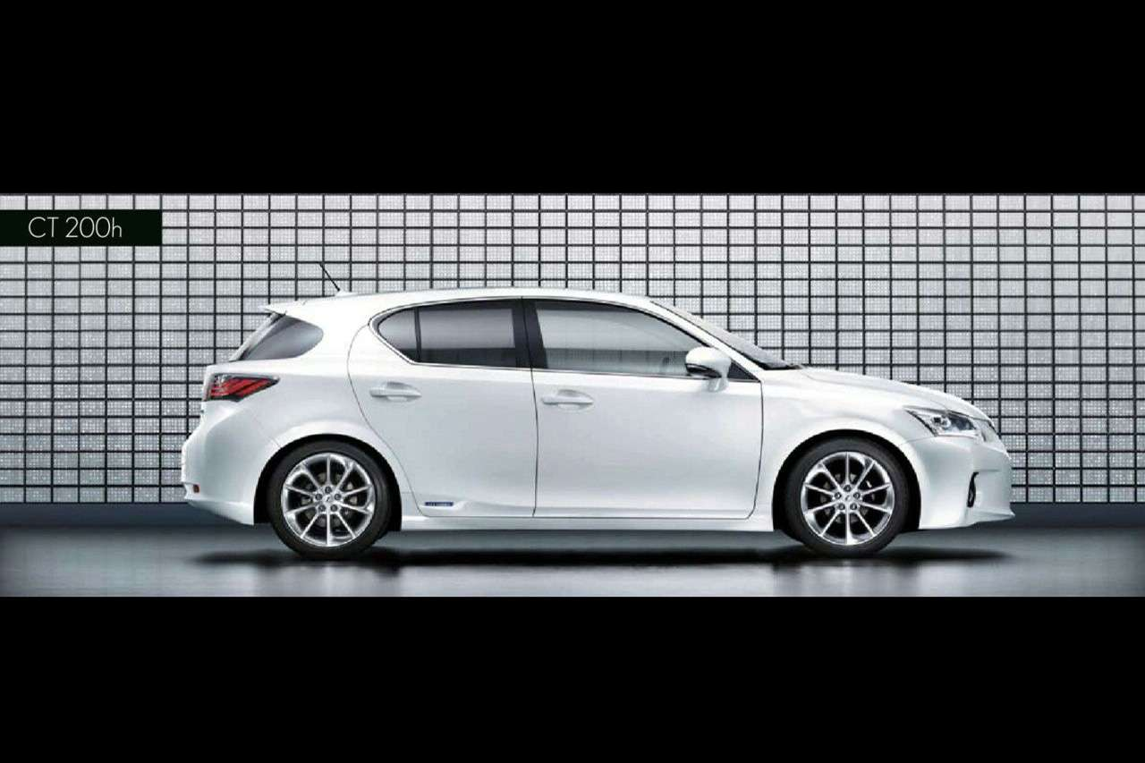 Lexus CT 200h Official Brochure luty 2010