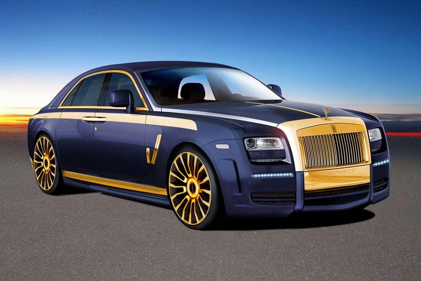 Rolls Royce Mansory luty 2010