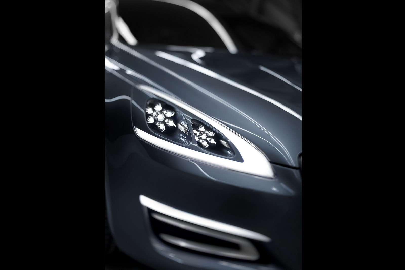Peugeot 508 sedan koncept luty 2010