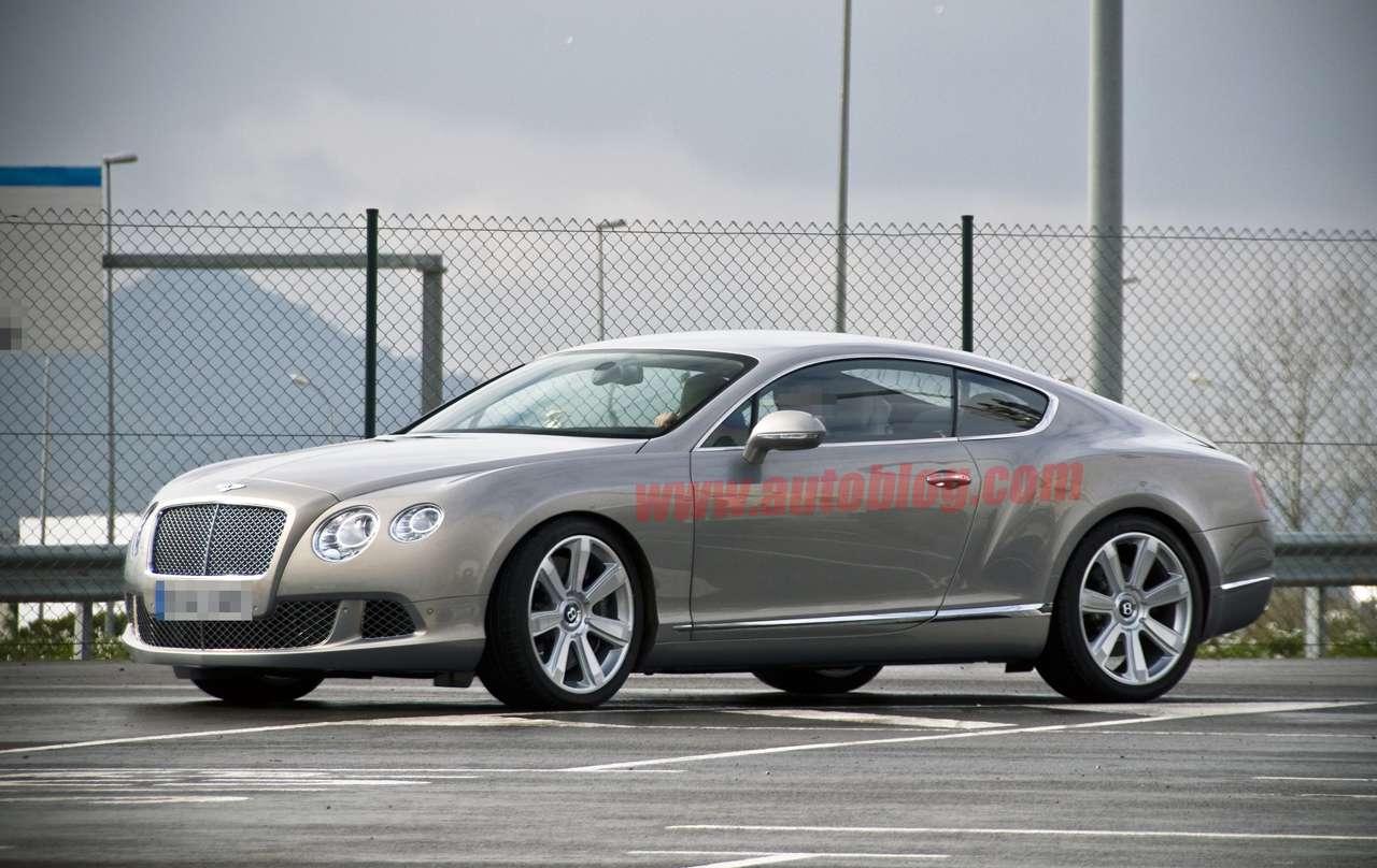 Nowy Bentley Continental szpieg AB 2010
