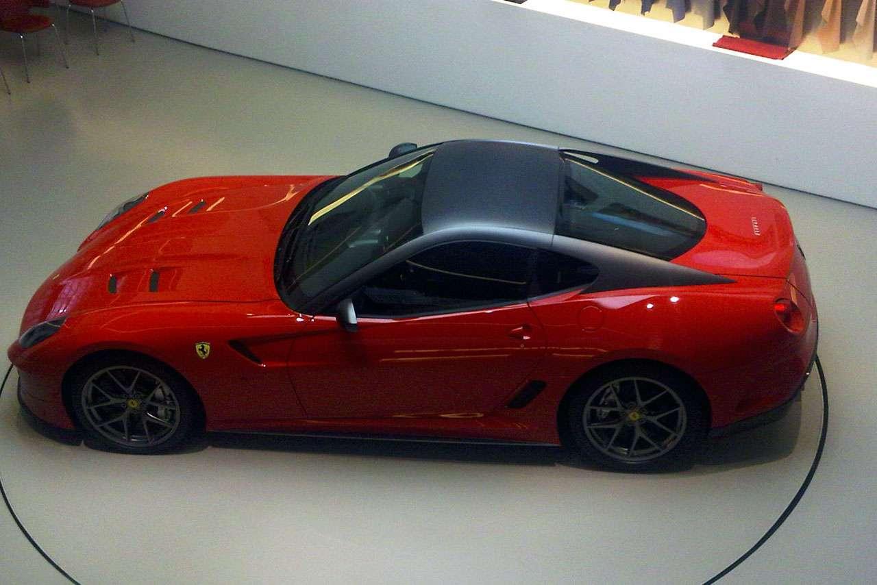 Ferrari 599 GTO TeamSpeed marzec 2010