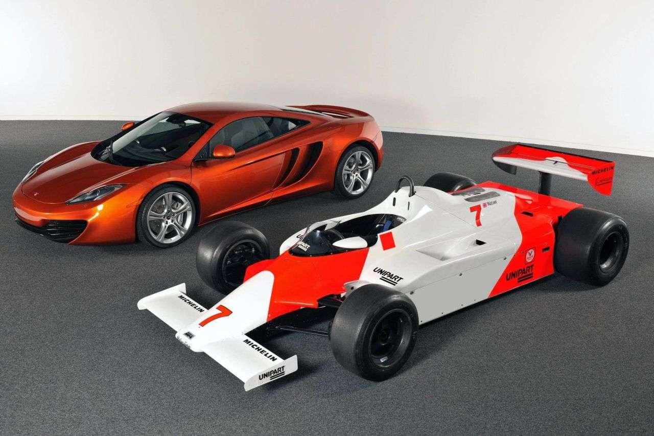 McLaren MP4-12C oficjalnie 2010