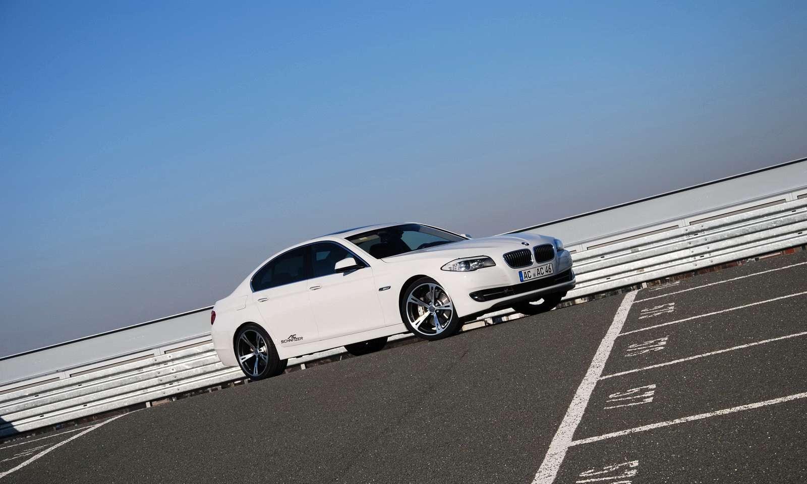 BMW serii 5 2011 AC Schnitzer 2010 felgi