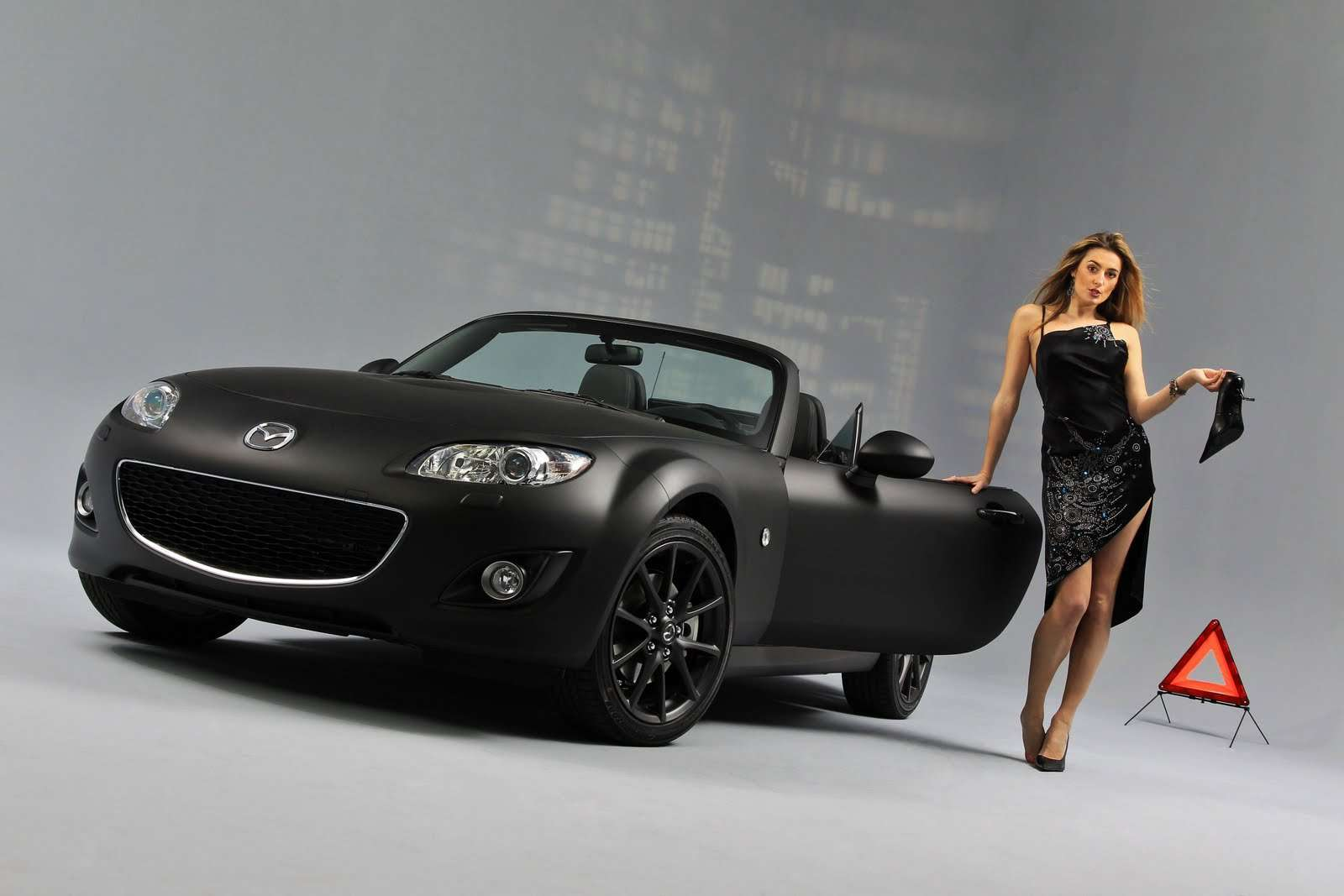 Mazda MX-5 Black Matte France 2010