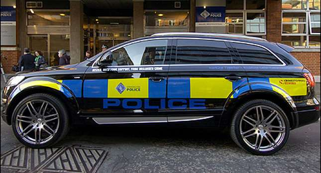 Skonfiskowane Audi Q7 od ABT 2010