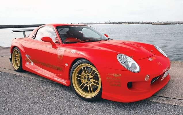 Mazda RX-7 spekulacje marzec 2010