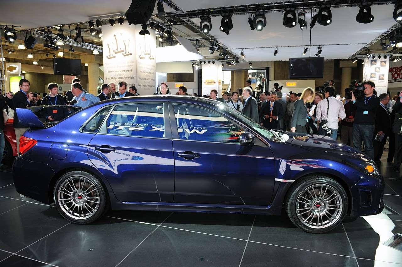 Subaru Impreza WRX STI Sedan NY 2010 press