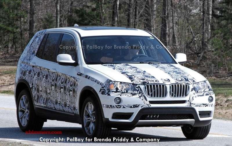 BMW X3 szpieg kwiecien 2010