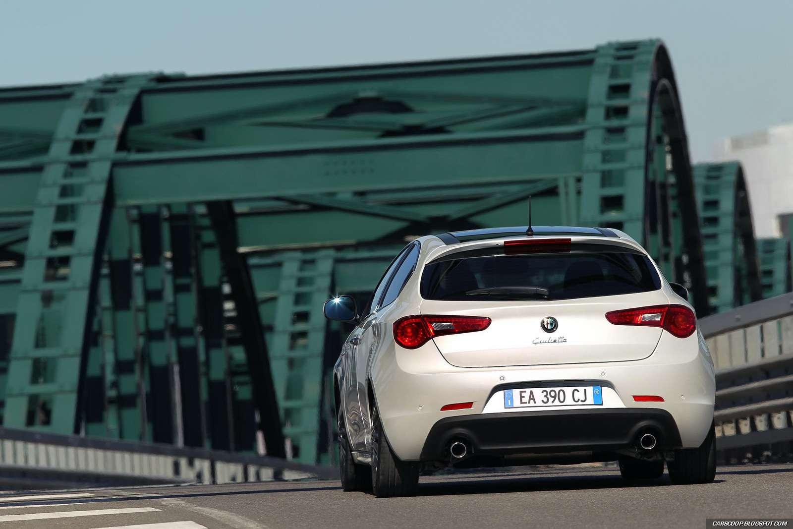 Alfa Romeo Giulietta fot kwiecien 2010