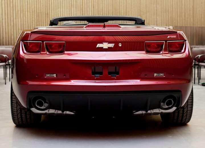 Chevrolet Camaro Convertible Facebook 2010