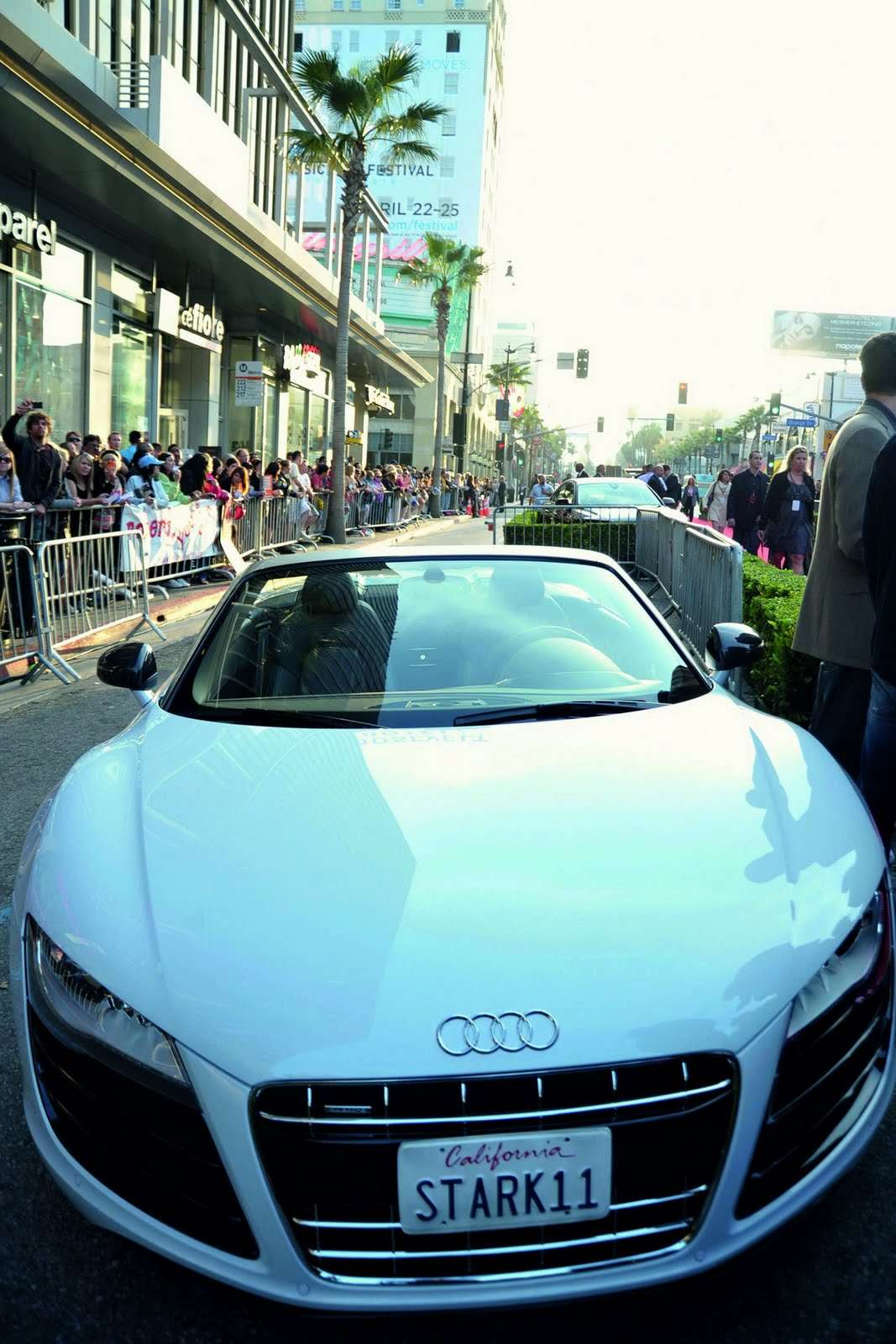 Audi R8 Spyder Iron Man 2 2010