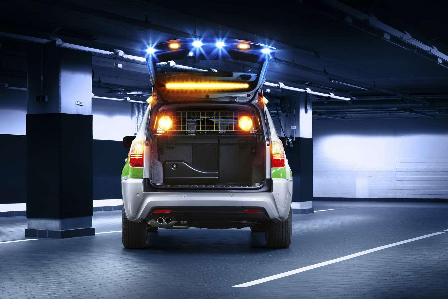 BMW X3 Police Car 2010