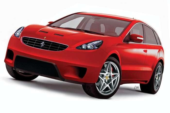 SUV Ferrari 2008