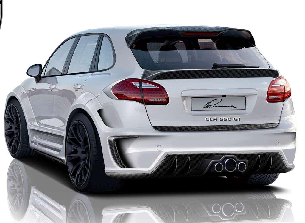 Lumma Design Porsche Cayenne 2011 maj 2010