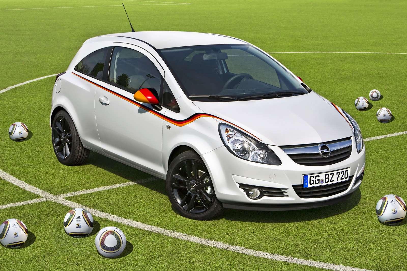 Opel Corsa Footbal Edition maj 2010