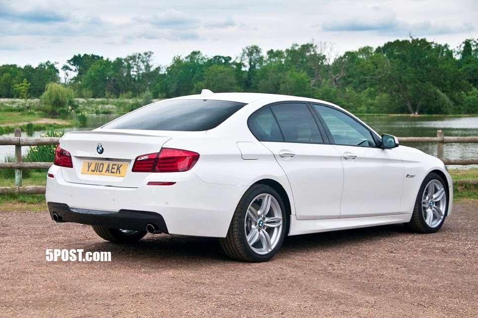 BMW M5 2011 czerwiec 2010