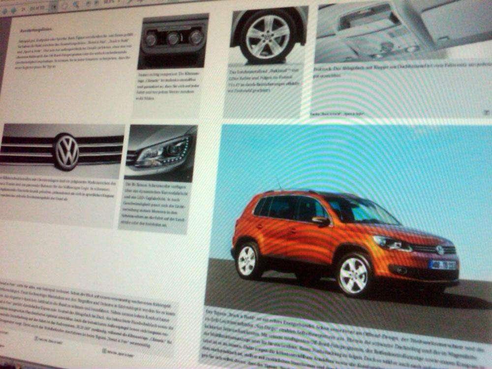 VW Tiguan 2011 broszura czerwiec 2010