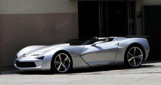Corvette Stingray Concept czerwiec 2010