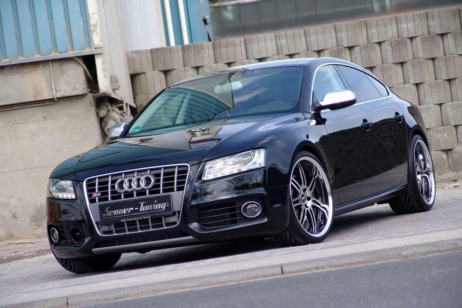 Dyskretny tuning Audi S5 Sportback czerwiec 2010