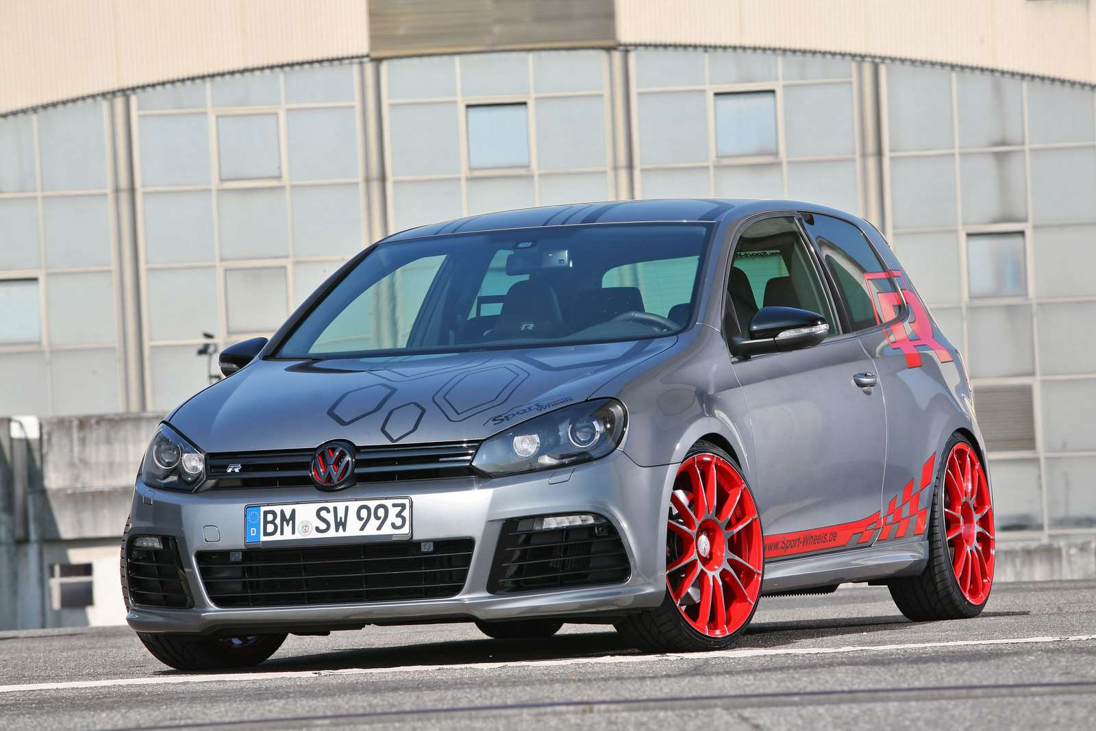 VW Golf R Sport-Wheels czerwiec 2010