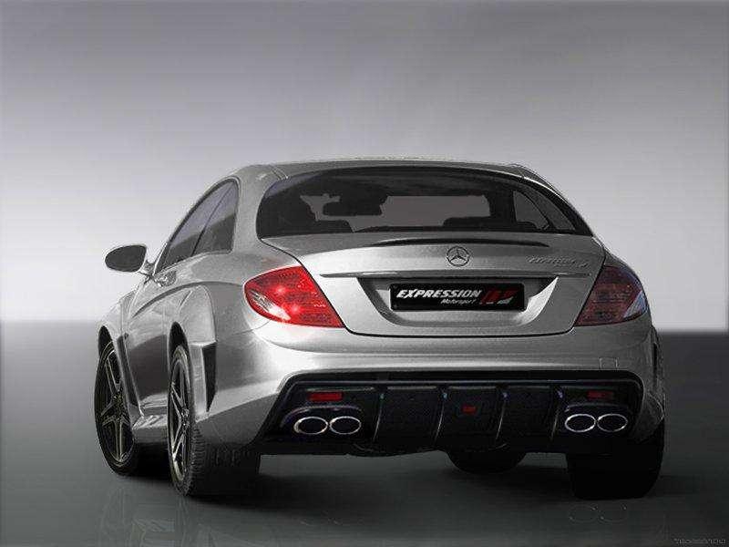 Mercedes CL65 Expression Motorsport lipiec 2010