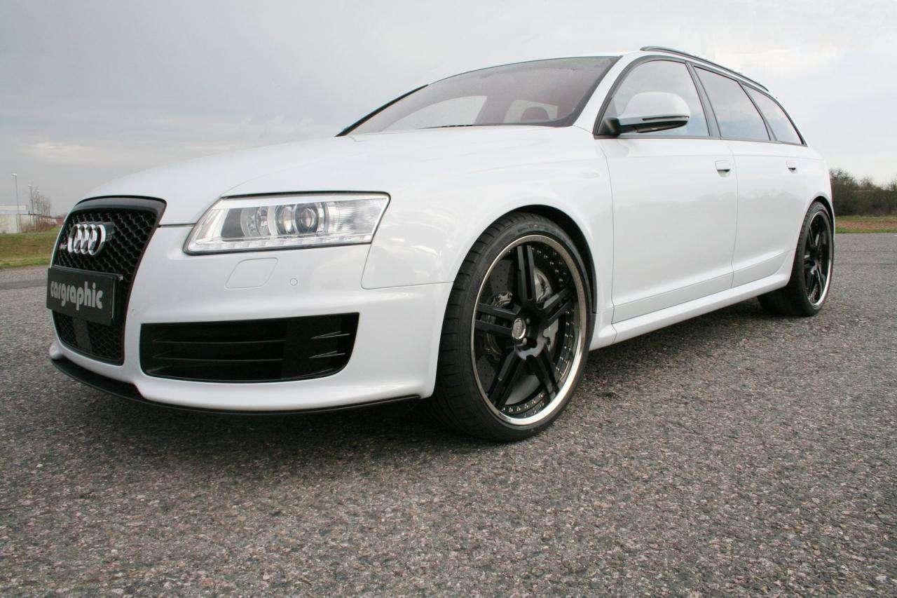 Audi RS6 Cargraphic lipiec 2010