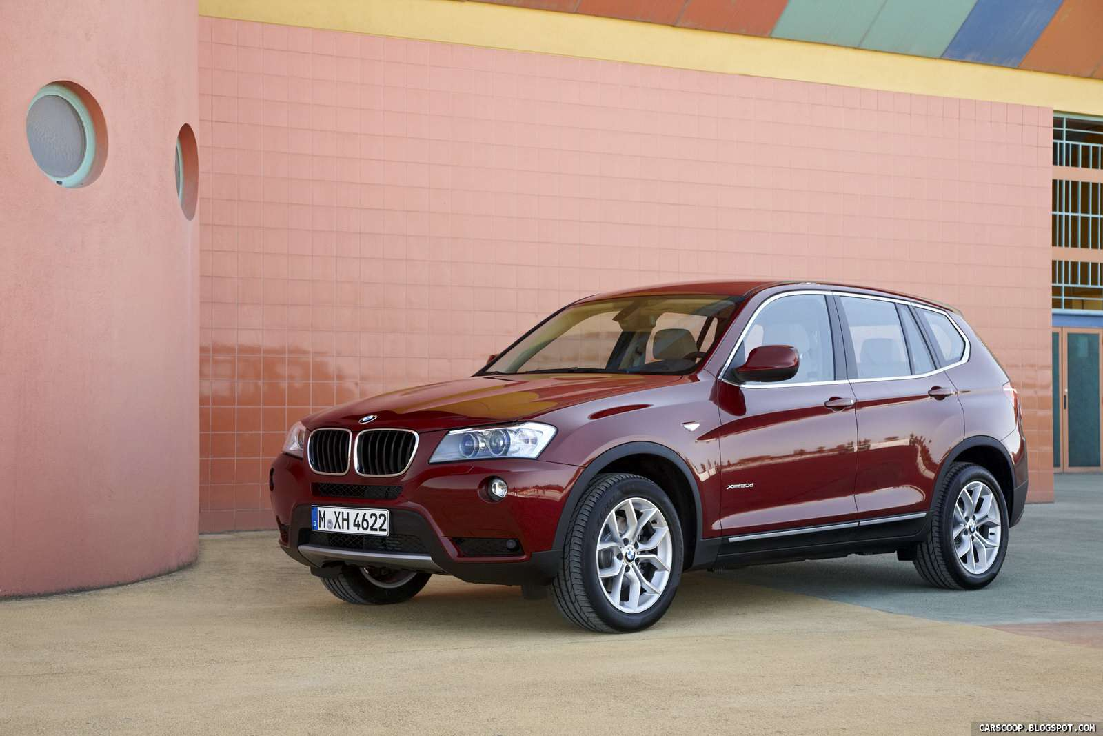 Nowe BMW X3 Carscoop lipiec 2010
