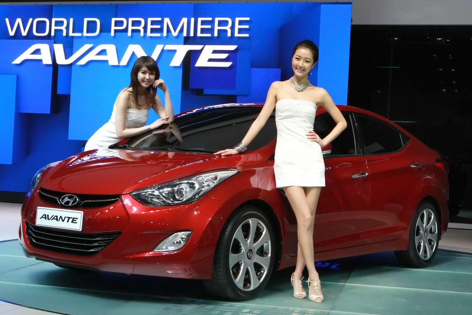 Hyundai Elantra avante lipiec 2010