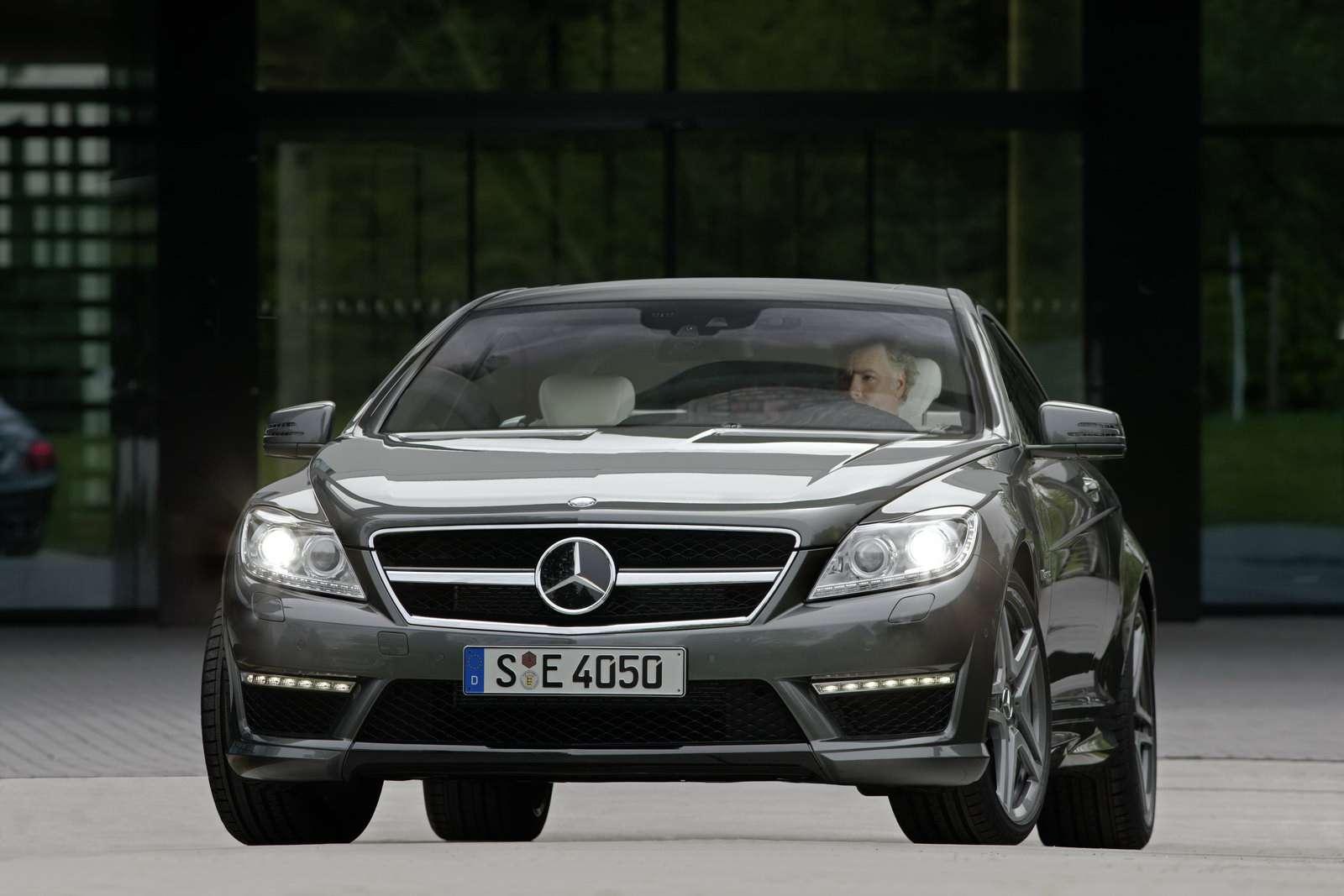 Mercedes-Benz CL63 AMG CL65 AMG lipiec 2010
