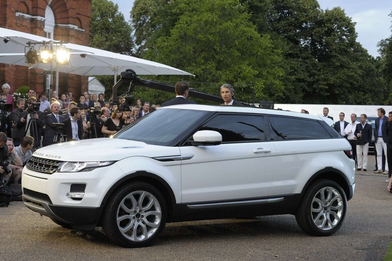 Range Rover Evoque victoria lipiec 2010