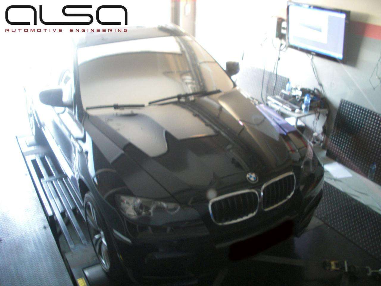 BMW X6 M Alsa Automotive Engineering lipiec 2010