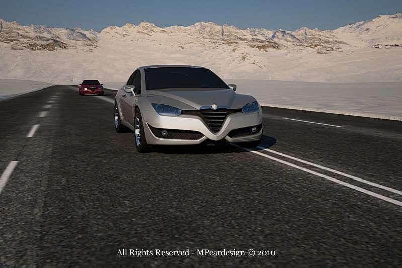 Alfa Romeo Vittorio Jano lipiec 2010