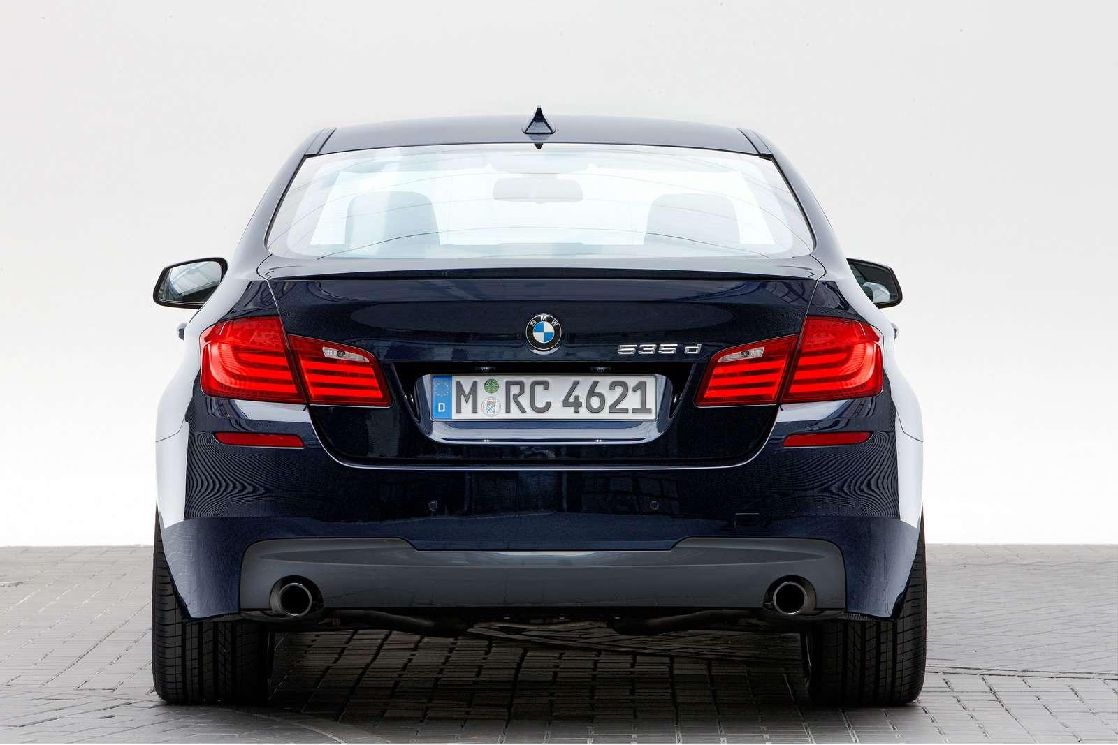BMW 5 M Sport lipiec 2010