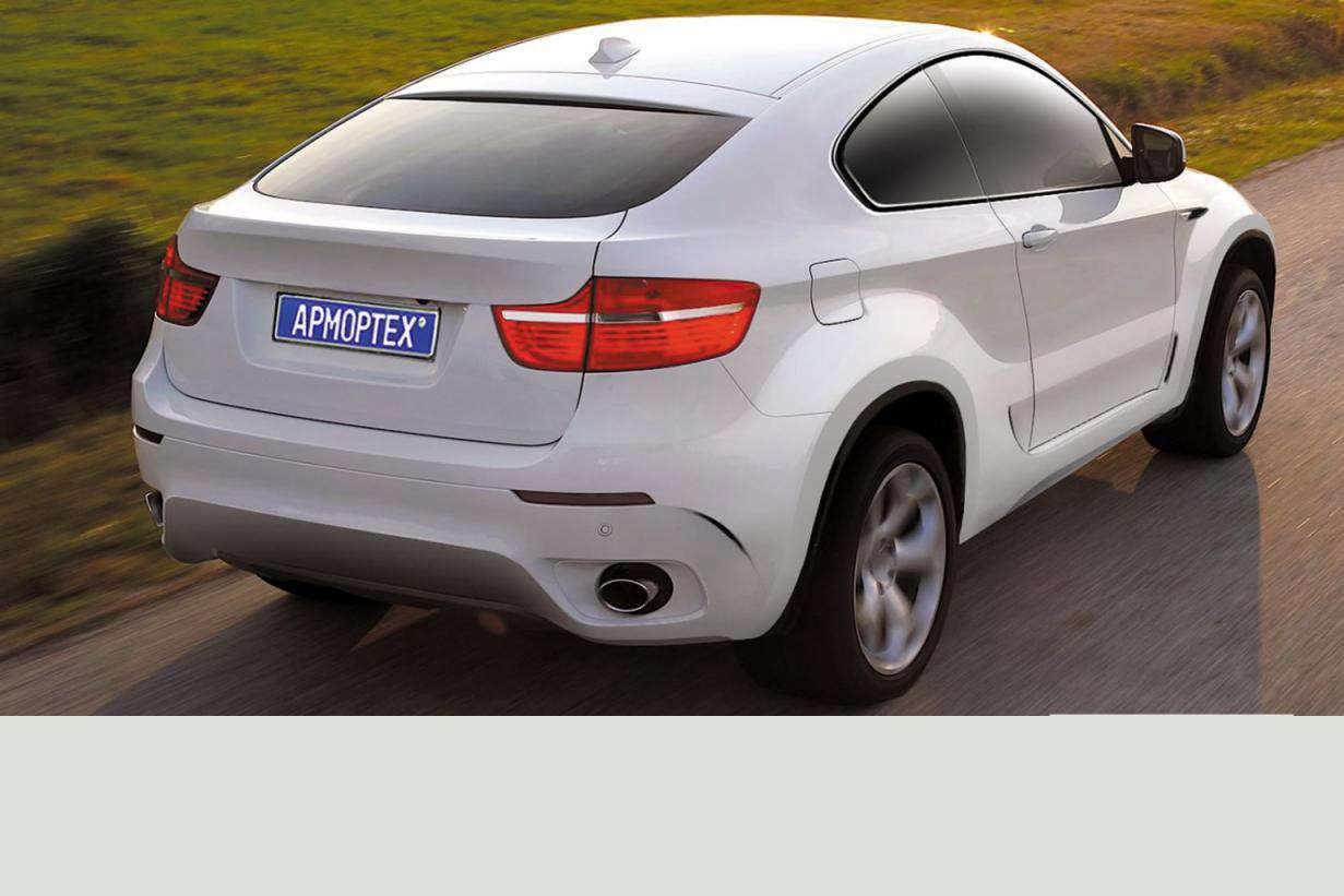 BMW X6 Coupe ArmorTech Carscoop lipiec 2010