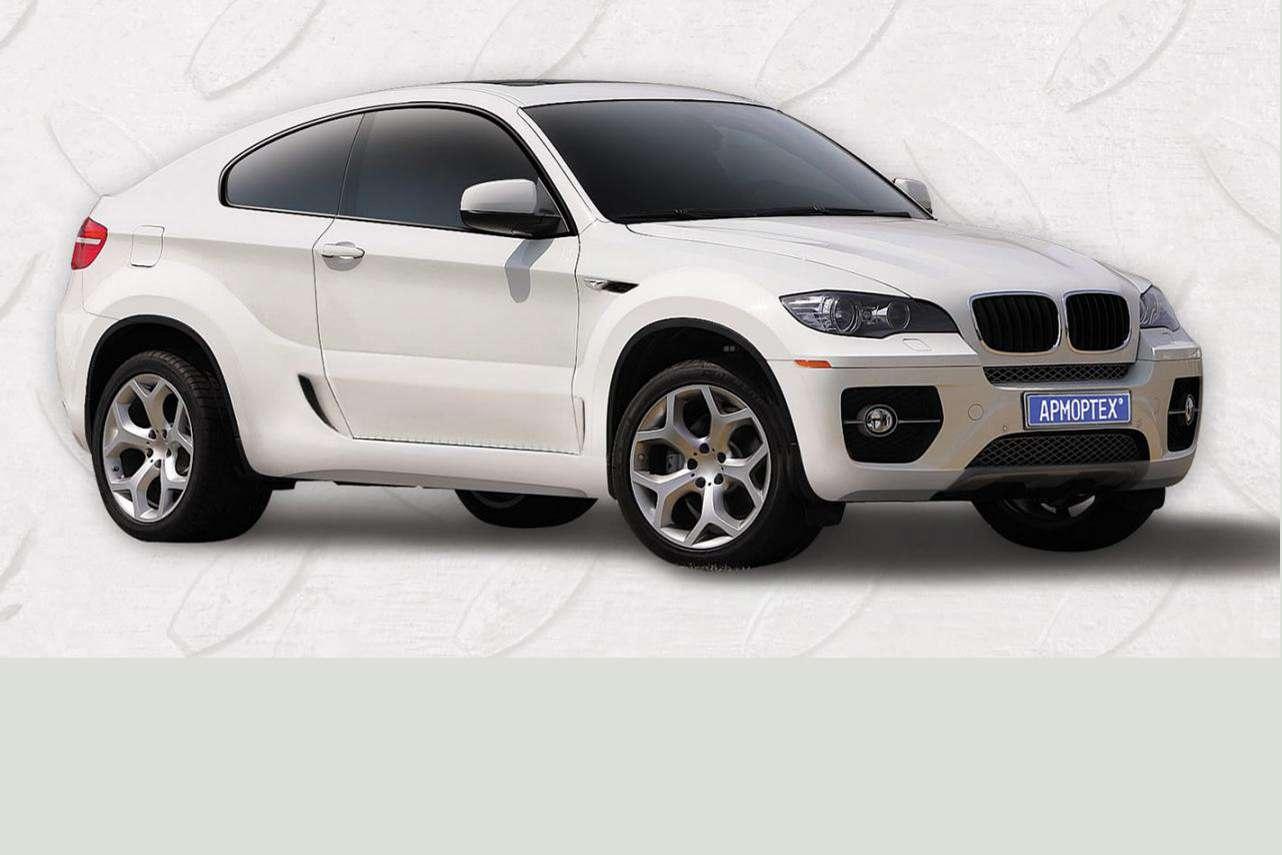 BMW X6 Coupe ArmorTech Carscoop lipiec 2010