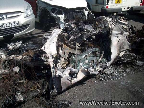 Ferrari 458 Italia crash big lipiec 2010